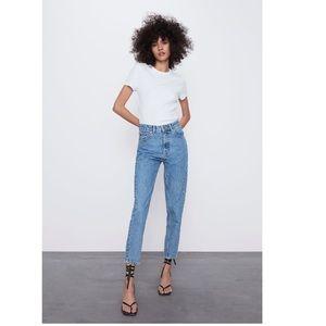 COPY - ZARA mom fit jeans